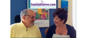 Roseann Vanella, host of FamilyAffaires.com, chats with Dr. Dan Gottlieb.